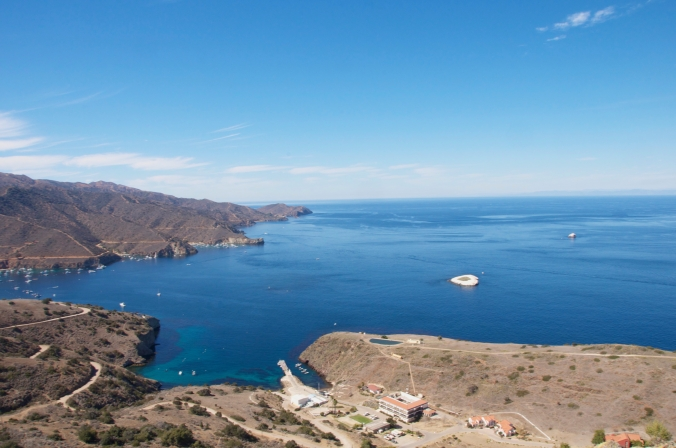 The University of Southern California's Wrigley Institute for Environmental Studies (Big Fisherman Cove, Catalina Island, CA).