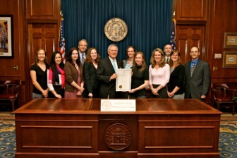 Governor Nathan Deal (GA) proclaims March the official Brain Awareness Month!
